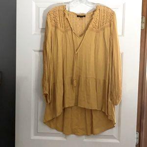 Long sleeve flowy blouse